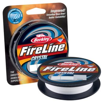 berkley fireline CRYSTAL 125YD 4LB