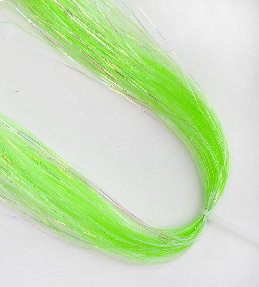 flashabou pearl a glow green
