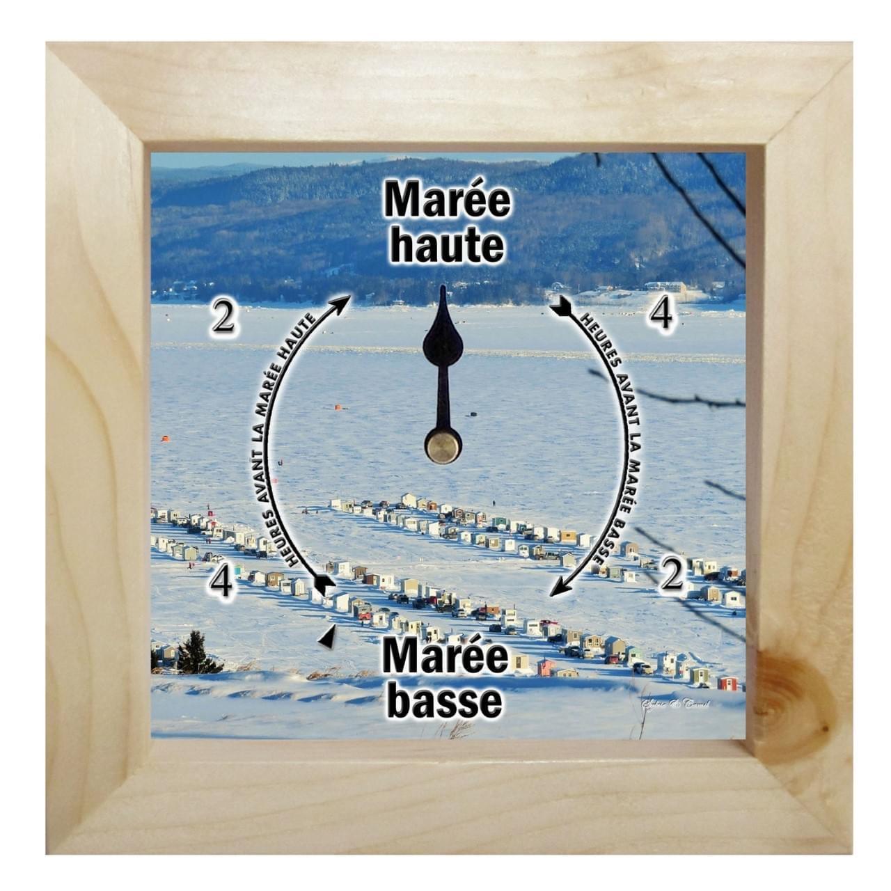 Horloge de marées (village)