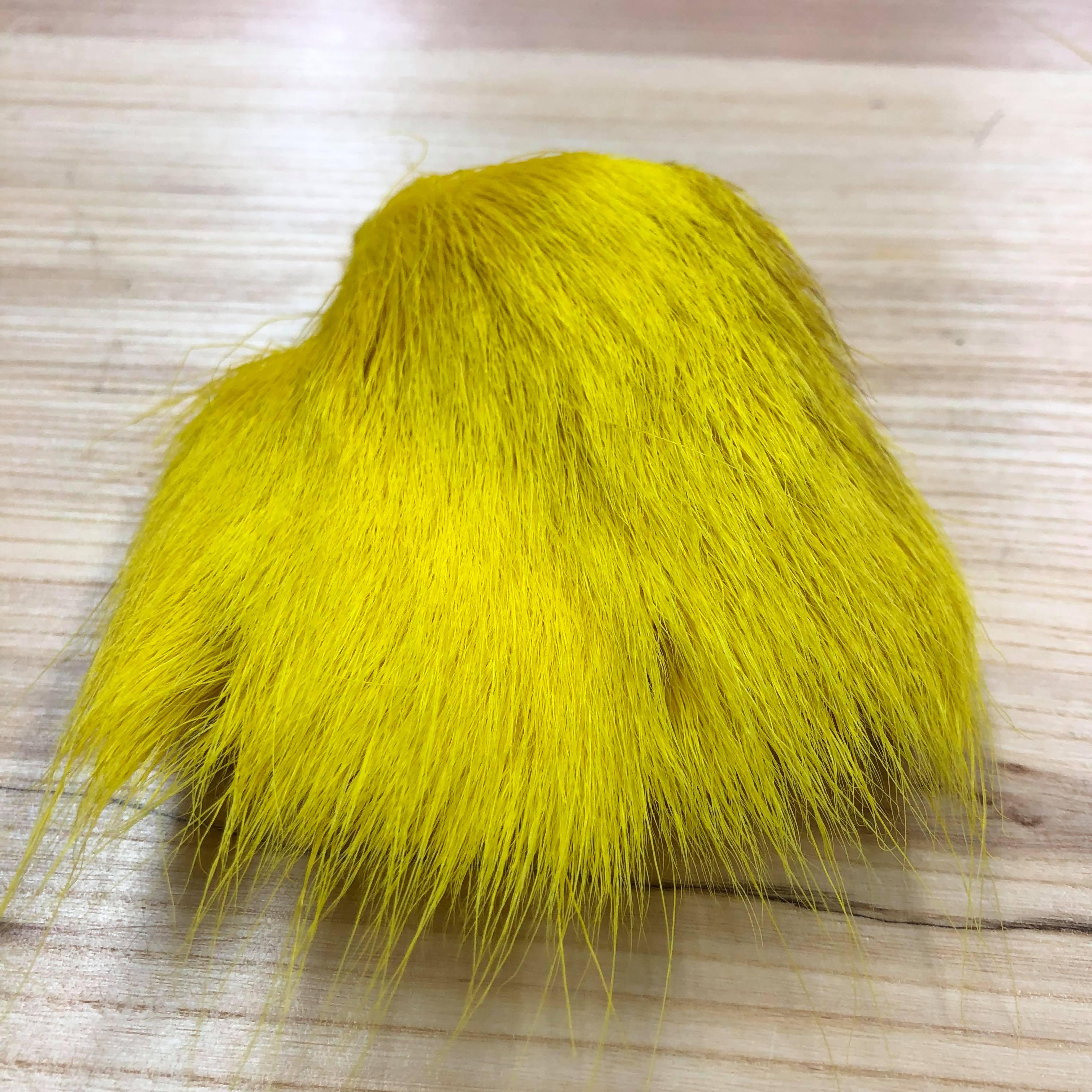 corps de chevreuil jaune