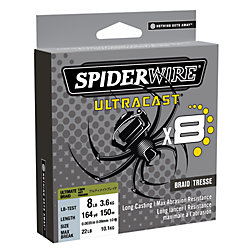 spiderwire ultracast X8 164YD 6LB